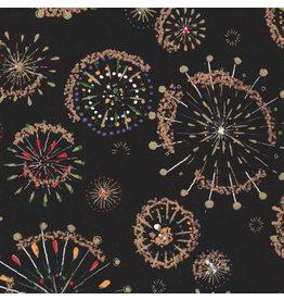 JP175 Japanpapier mit Feuerwerk Aufdruck
