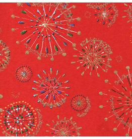 JP175 Japanischem Papier mit Feuerwerk Aufdruck, 3 Fb.