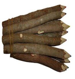 TH218 Lot de 10 crayons de couleur bois de tamarin