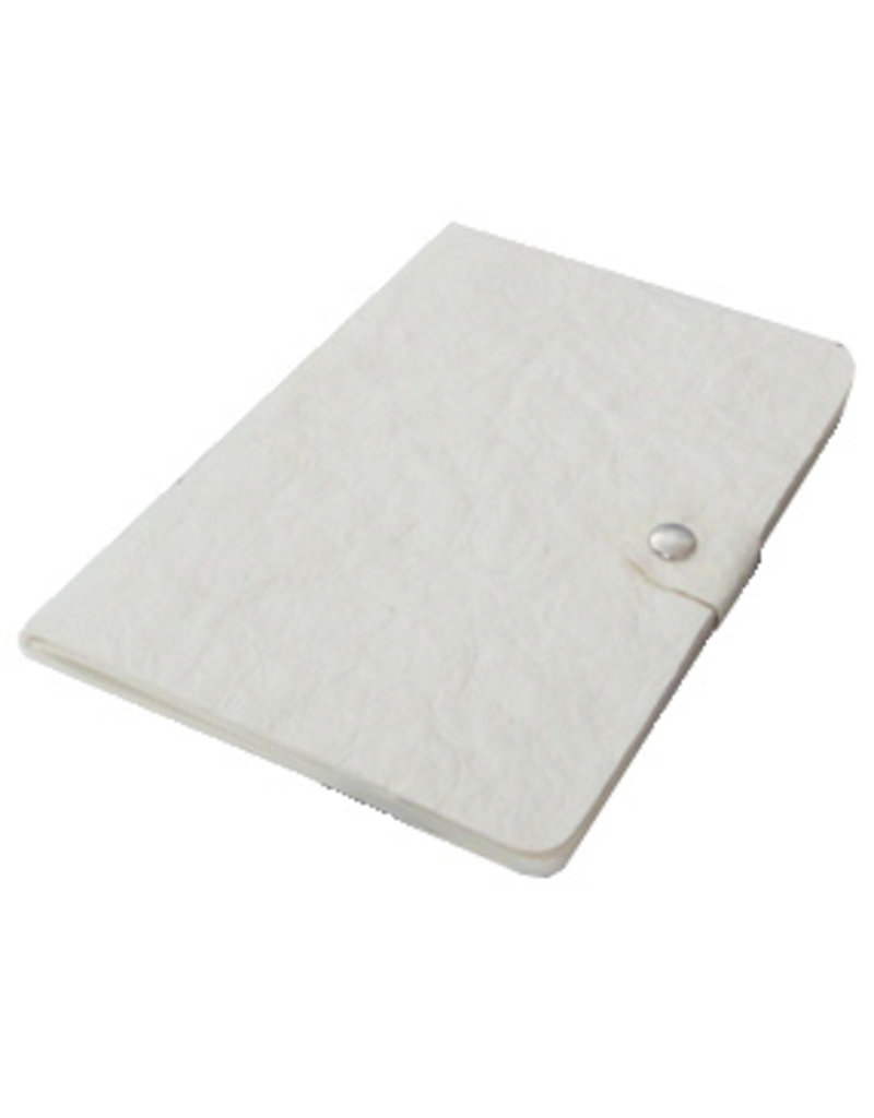 Journal papier de cuir