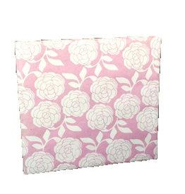 TH617 Gastenboek embossed rozen dessin