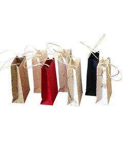 TH045 Minitasche aus Maulbeerpapier 10 St