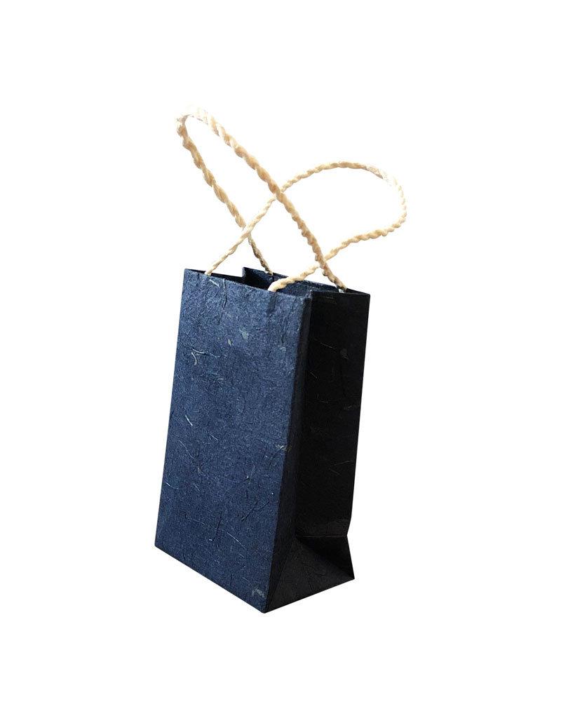 Tasche aus Maulbeerpapier 16x12x5 cm 10 pc