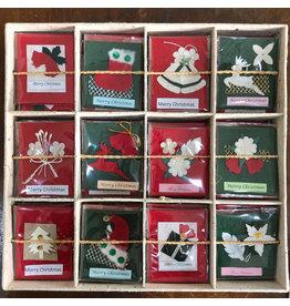 TH381 Display met kerst kaartjes