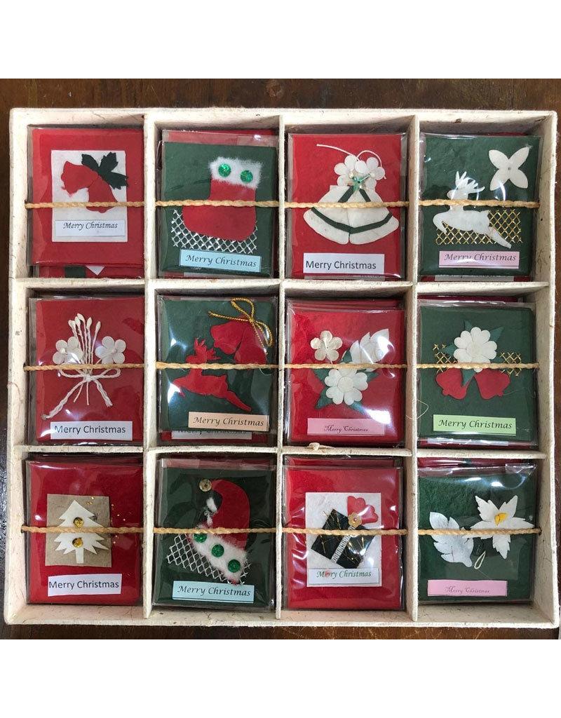 TH381 Display kerst kaartjes
