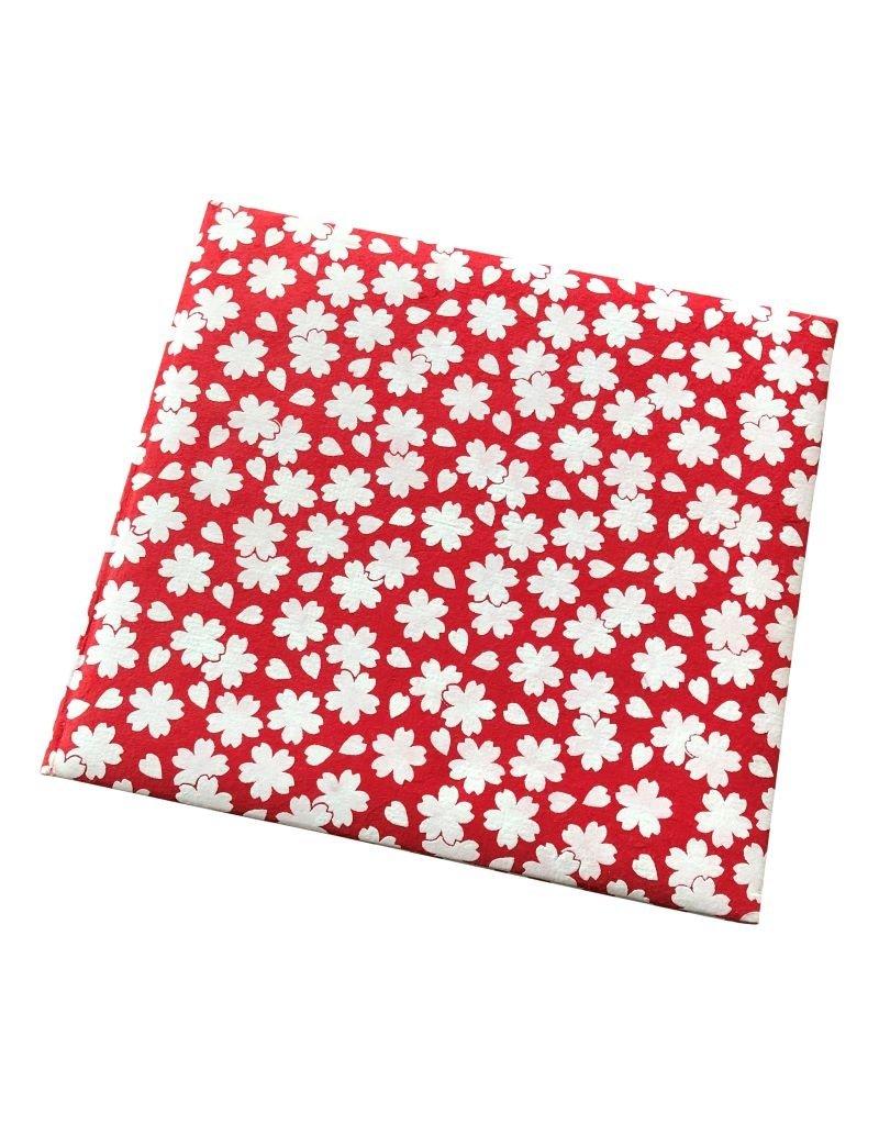 Guestbook with Sakura flower print
