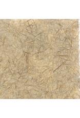 Papier Gampi avec fibres de cogon