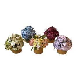 TH017 Handgemaakte bloemen in potje