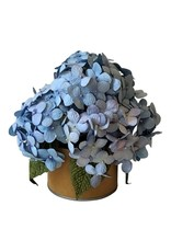 Handmade flowers in a flowerpot
