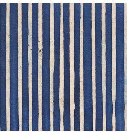 NE434 Papier Lokta à rayures batik