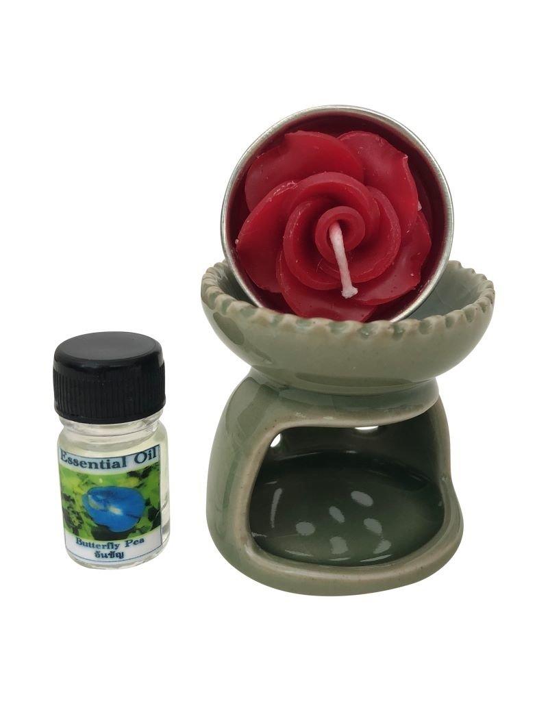 Burner for aroma oil