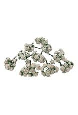 Set 100 bloemetjes van mulberrypapier M