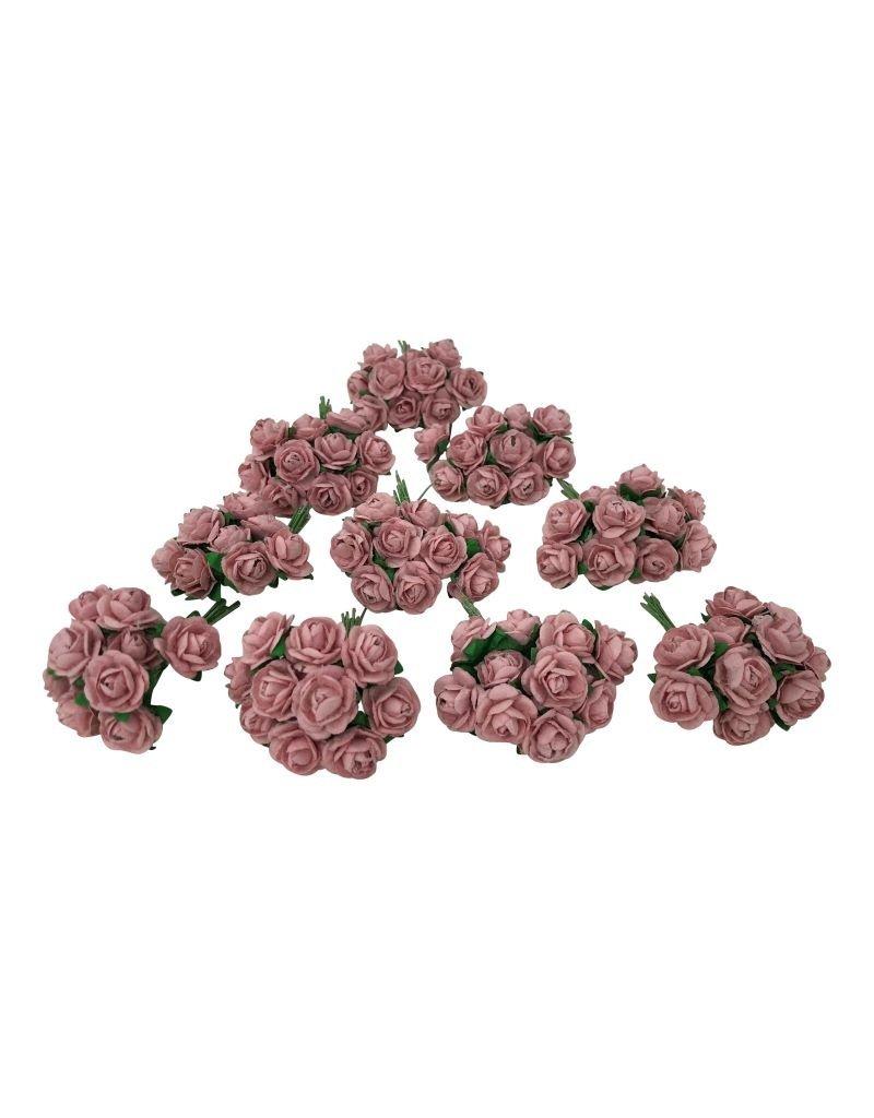 Set 100 fleurs de papier de mûrier M