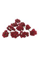 Set 50 Blumen aus MaulbeerpapierM