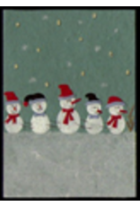 . Set 6 cards/envelopes Christmas design