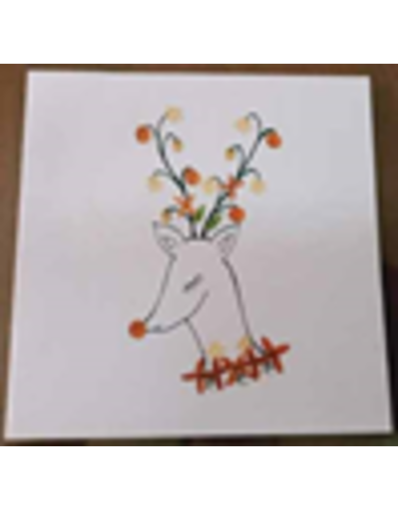 . Ensemble de 6 cartes/enveloppes avec un motif de Noël
