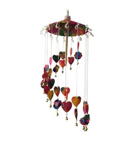 TH387 Mobile colourfull hearts