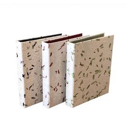 TH39 0Registre de condoléances papier mûrier / feuille de tamarin