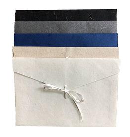 TH050 Ensemble de 10 enveloppes de papier murier