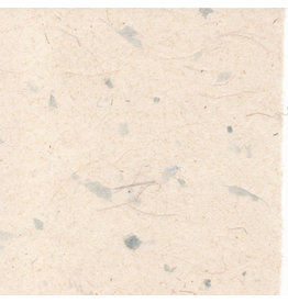 PN280 Gampi papier met vezels en parelmoer