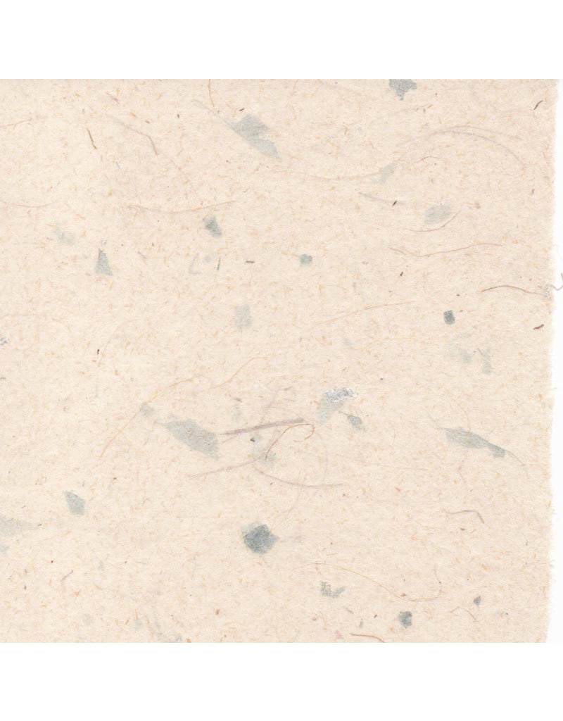 Gampi paper with fibres and mother of pearl, 90 grs