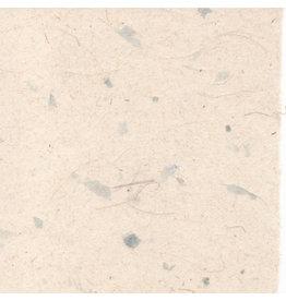 A4d70  Set 25 vel  Gampi papier met vezels/mica