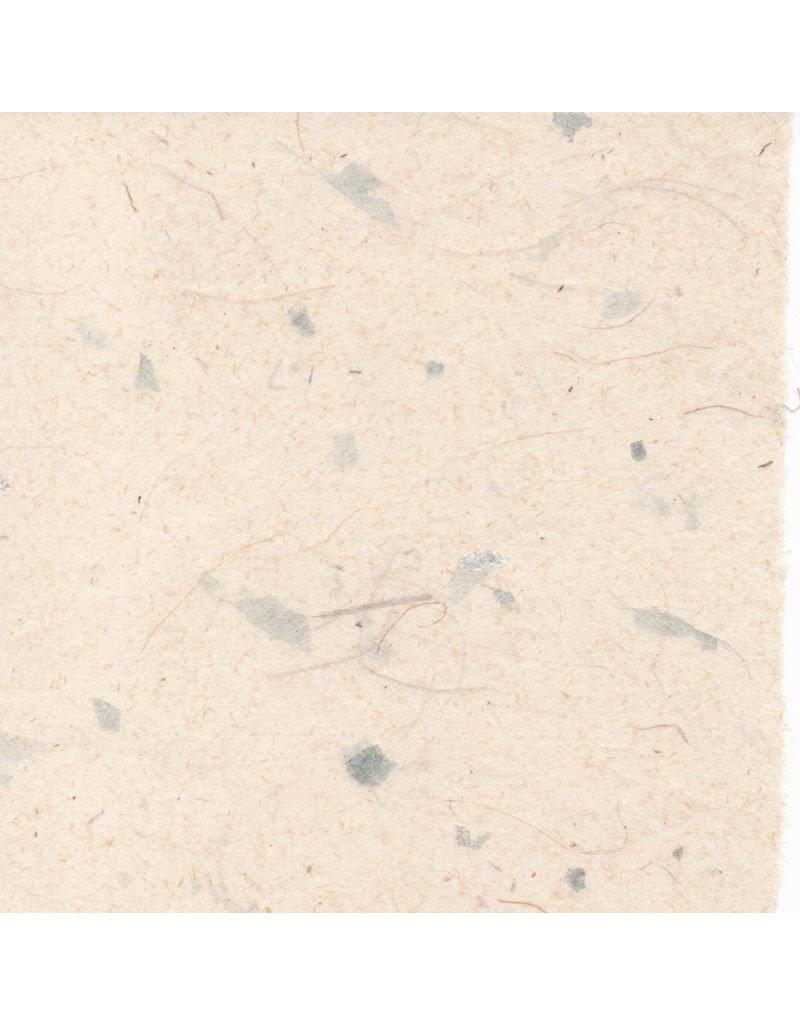 Papier de Gampi avec fibres/mica, 90 grs.