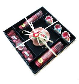 TH086 Emballage cadeau d'encens et de bougies