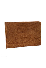Guestbook crinkled leather-look