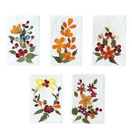 TH122 Set 10 kaarten /env. bloem