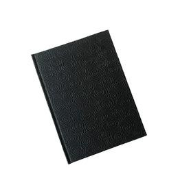 AE935 Notebook A5 rozen relief print