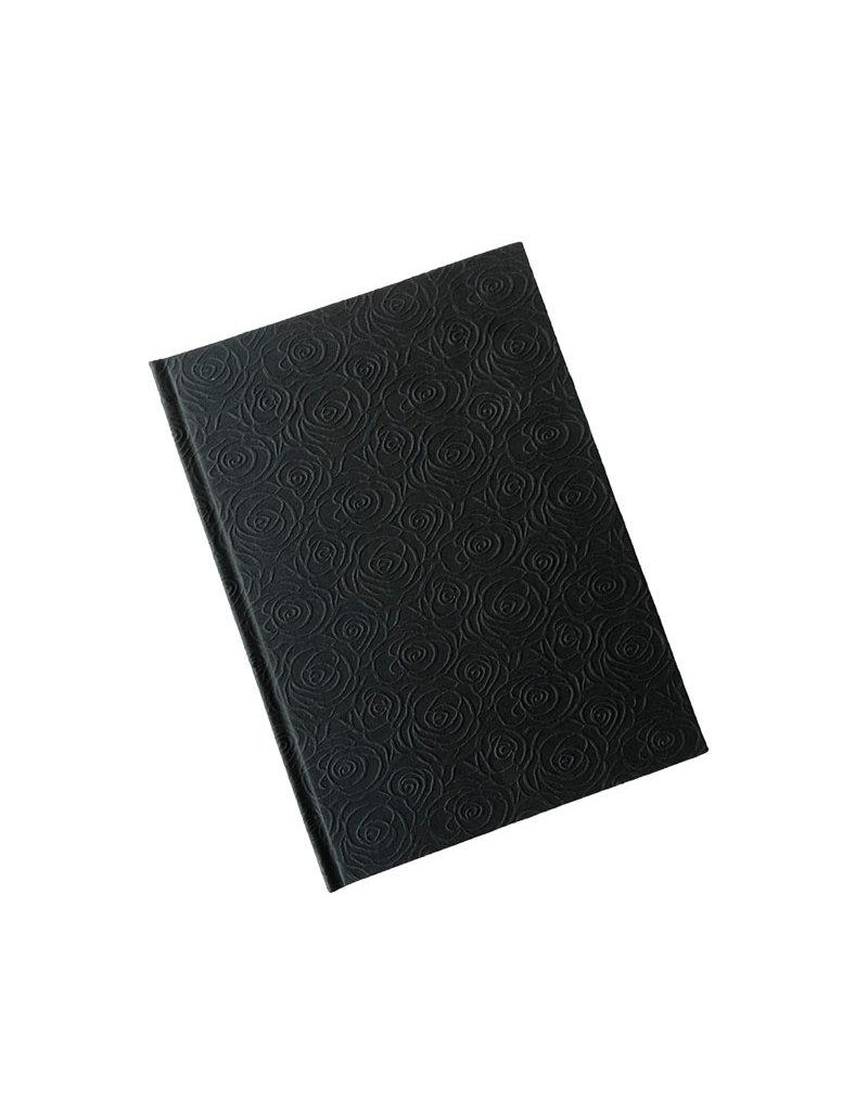 Notebook A5 rozen relief print