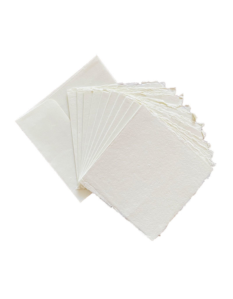 Set 10 envelopes with 10 double cards