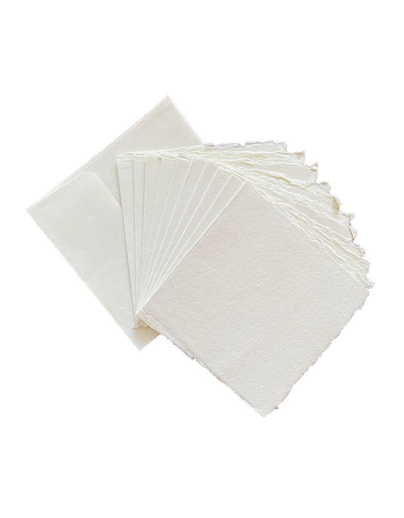 Set 10 enveloppen met 10 dubbele kaarten