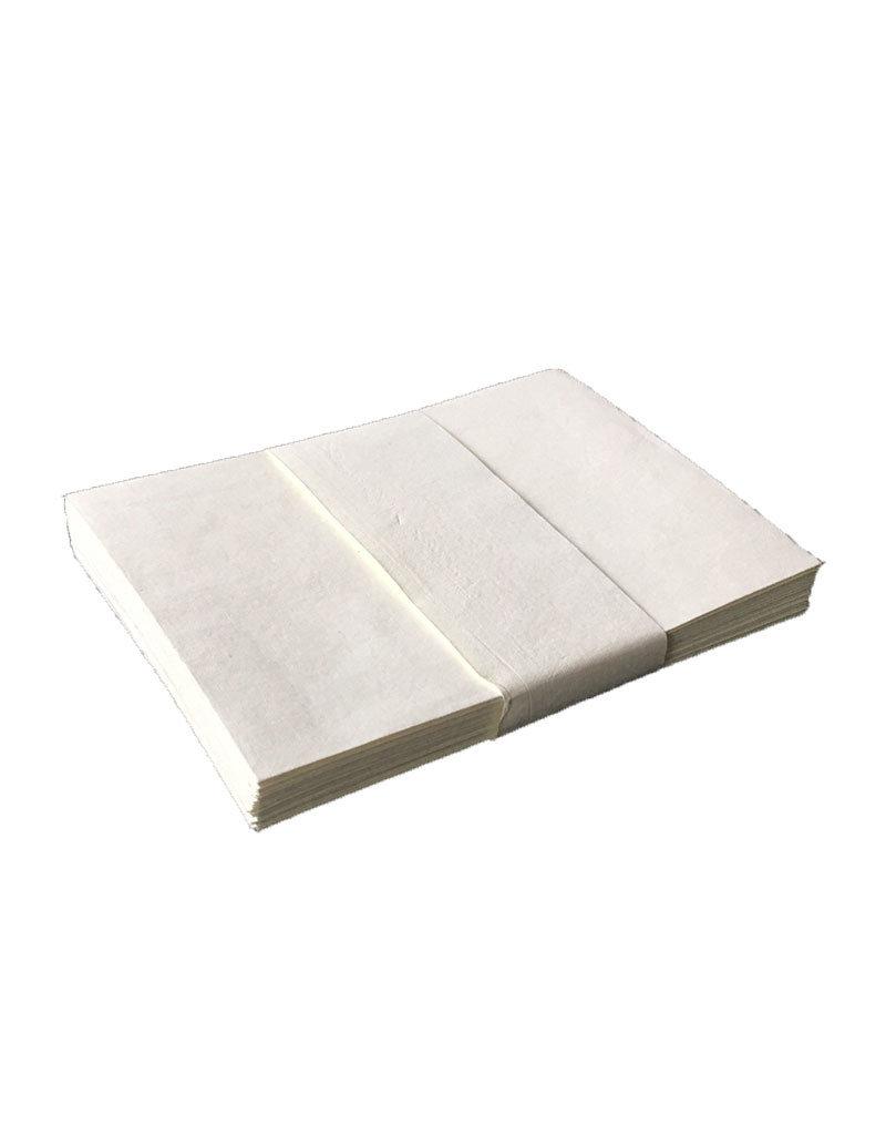 Satz von 25 Umschlaege, Baumwollepapier,11x16cm
