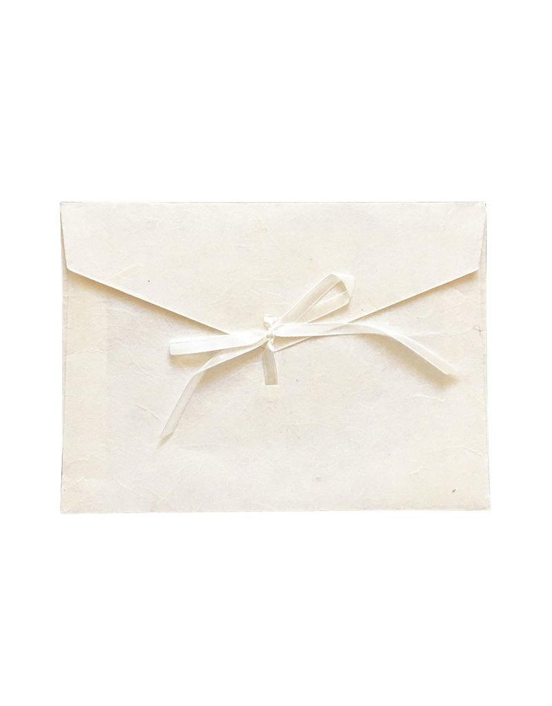 Set de 10 enveloppes papier mulberry, A5+