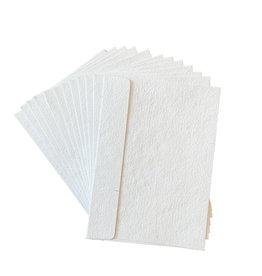 A5010 Set 20 envelopes white cottonpaper 16x22cm