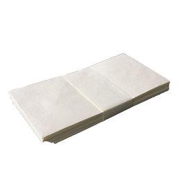 A6018 Satz von 25 Umschläge, Baumwollepapier 11x22cm