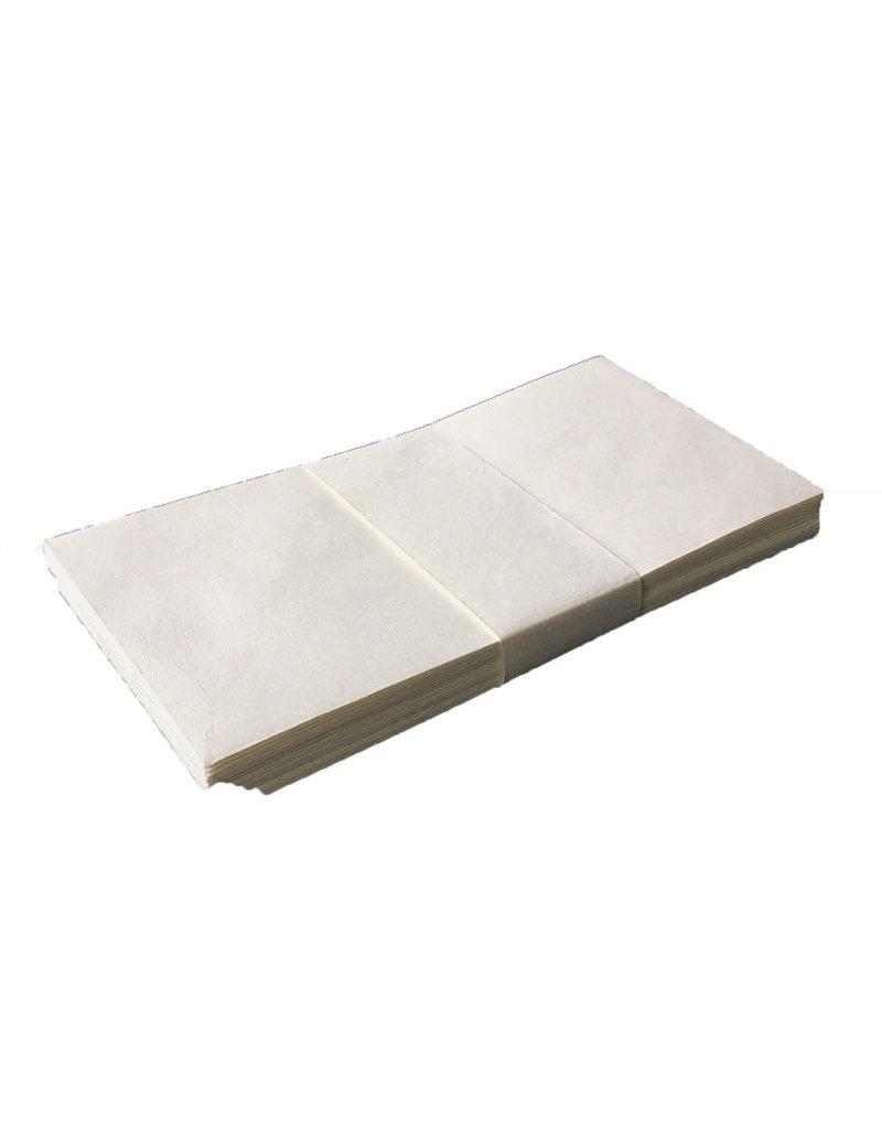 Satz von 25 Umschläge, Baumwollepapier, 11x22cm