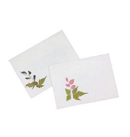 TH179 Set van 10 cadeau enveloppen met bloemen,