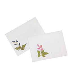 TH179 Set von 10 Geschenk-Umschlägen mit Blumen
