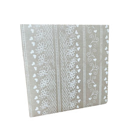 TH267 Guestbook lace print