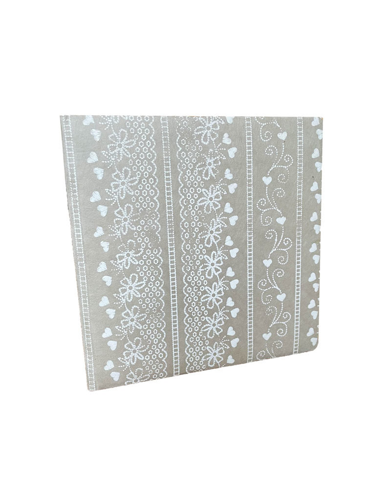 Guestbook lace print