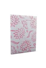 Notebook 'Sunflower' met kantpapier