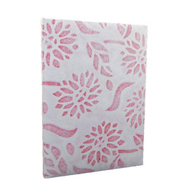 TH168 Notebook 'Sunflower' avec une couverture de la dentelle