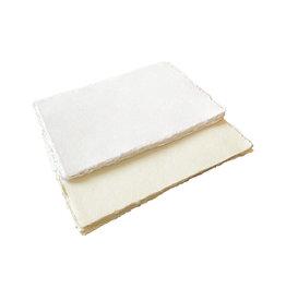 A4d38 Lot de 25 feuilles de papier de coton