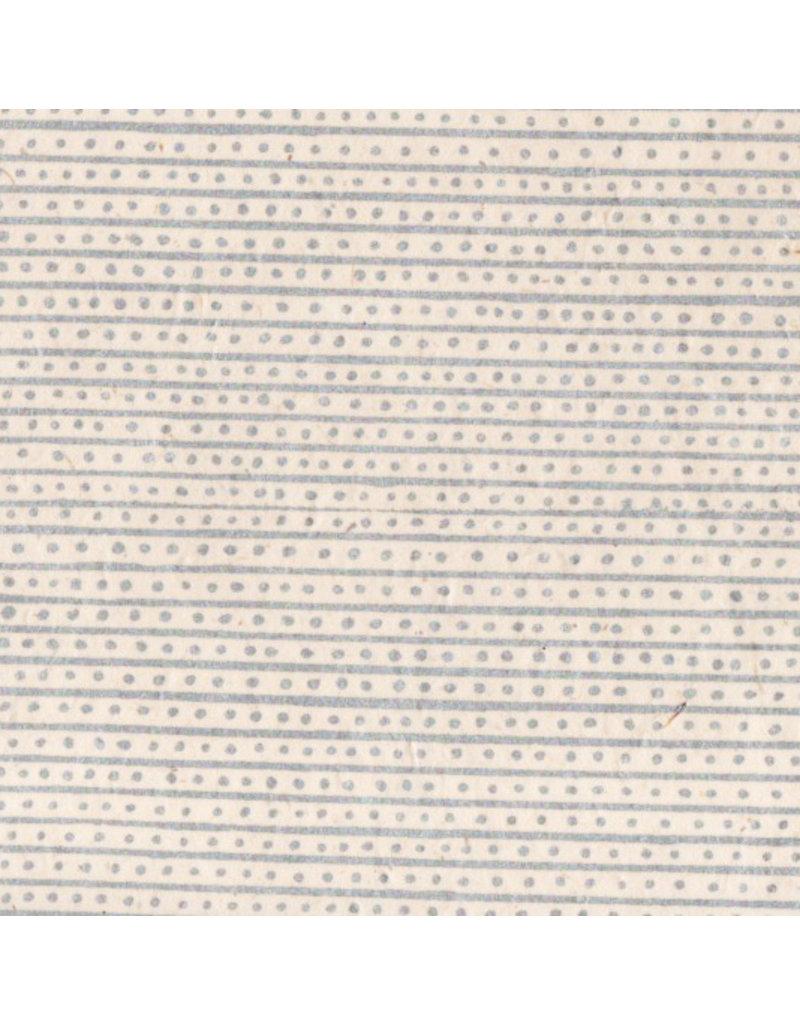 Papier lokta rayures/points