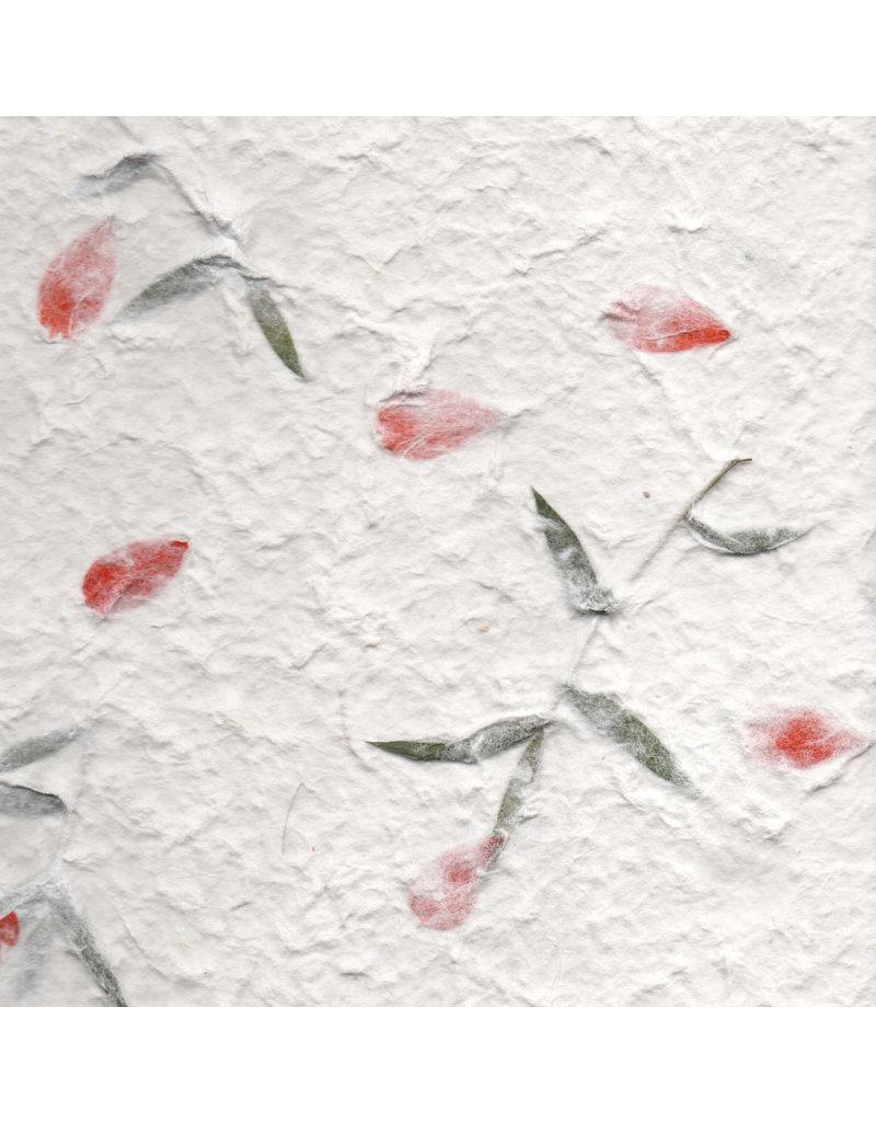 Maulbeerbaumpapier mit Blumen-mix