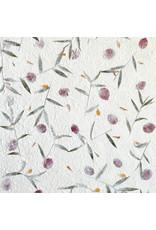 Maulbeerpapier mit Blumen