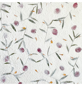 TH882 Mulberrypaper with flower mix